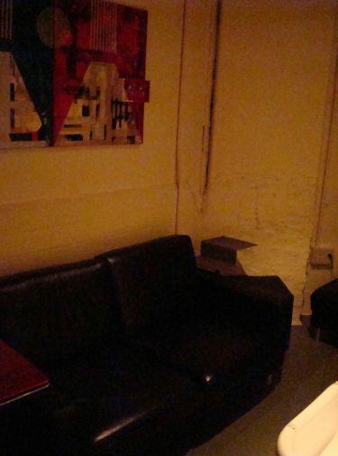 赤坂 ショットバー Bar Flow 落ち着いたテーブル席